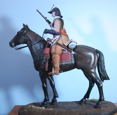 Picture of Mounted Officer - English Civil War