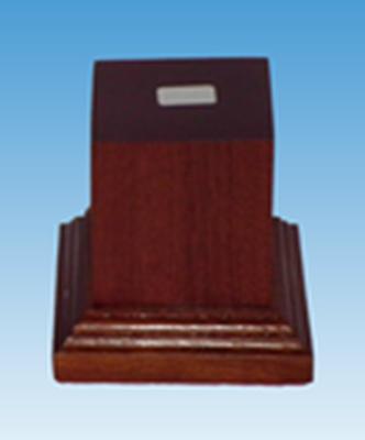 Picture of Wooden Base: 40mm Square Pedestal (Dark)