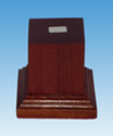 Picture of Wooden Base: Large Mounted Base