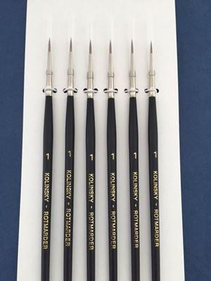 Kolinsky Sable Brush Set Size 1
